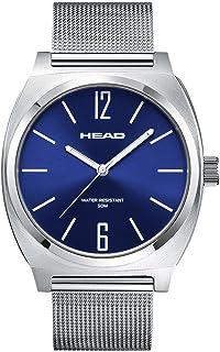 Head Reloj Analógico para Unisex Adultos de Cuarzo con Correa en Acero Inoxidable HE-010-02