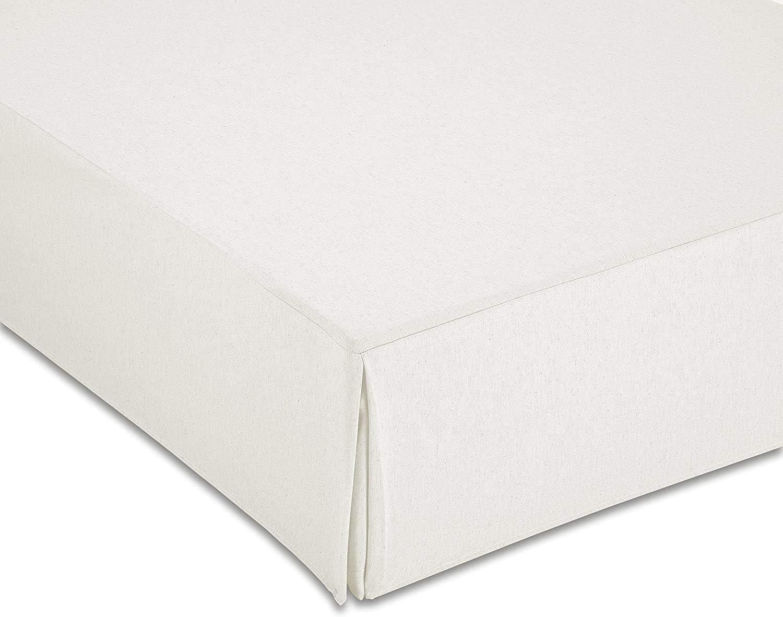 ZETA TEX - Cubre Canapé Color Blanco (90_x_190_cm)
