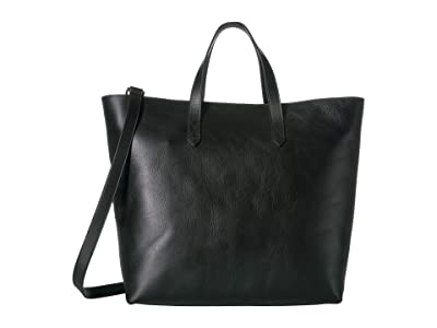 Madewell The Zip Top Transport Carryall (True Black) Handbags