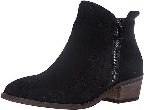 SheSole SheSole SheSole Ankle bottes, Bottes Chelsea Homme Femme - Noir - New noir, 35.5 bec