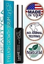 Eyelash Growth Serum Eyebrow Growth - Vegan Lash Boost 8,5 ML - Best Eyelash Conditioner - Brow Enhancer - USA Made Irritation Free Formula