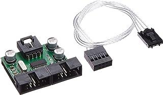 アイネックス USB2.0ヘッダー 2分配ハブ HUB-06