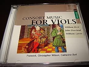 Consort Music For Viols / William Byrd / John Dowland / William Lawes / Fretwork, Christopher Willson, Catherine Bott / Veritas / Virgin Edition / Byrd Miserere a 4 / Byrd Christe qui lux 4 nn. 1-3 / Byrd Te lucis / Byrd In Nomine a 5 n. 2 / Byrd In Nomine a 5 n. 5 / Byrd Fantasia a 3 n. 3 / Byrd Fantasia a 4 n. 1 / Byrd Fantasia a 6 n. 2 / Dowland Lachrimae Antiquae* / Dowland Lachrimae Antiquae Novae* / Dowland Lachrimae Tristes* / Dowland M. Buction His Galiard