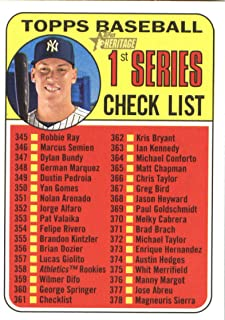 Aaron Judge 2018 Topps Heritage #361 Yankees Baseball Card