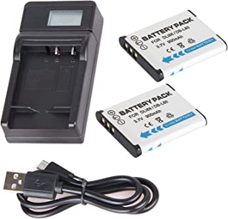 DMX-TH1 VPC-TH1 VPC-HD1000 VPC-WH1 Camera Battery and More DMX-HD1010 VPC-TH2 VPC-HD1010 VPC-HD2000 DMX-HD1000 DMX-WH1 DB-L50 USB Charger for Sanyo Xacti DMX-FH11 DMX-HD2000