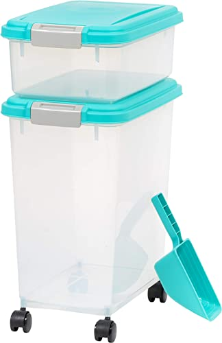 IRIS USA, Inc. Airtight Pet Food and Treat Storage Container