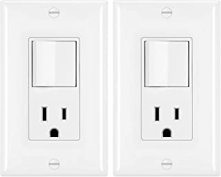 light switch receptacle