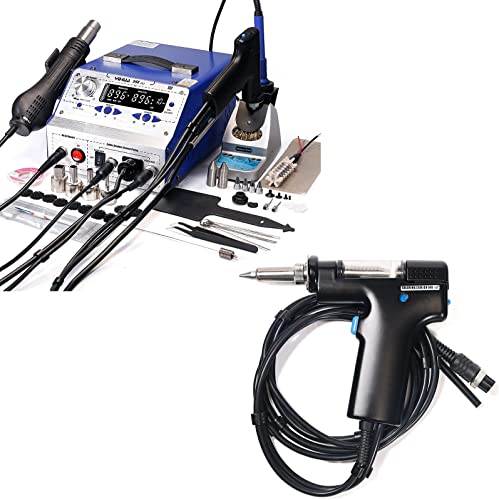 lowest YIHUA 948-II Professional Soldering, Desoldering & Rework new arrival Station bundle with high quality YIHUA #948G Replacement Desoldering Suction Gun Handpiece/Handle(36 Items) online sale