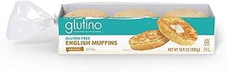 Gluten Free by Glutino Premium English Muffins, Perfect for Breakfast, Original, 16.9 Ounce