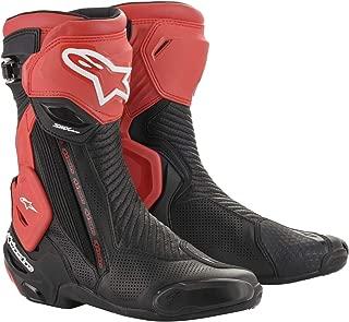 Alpinestars SMX Plus V2 Vented Boots (44, 13-Black Red)