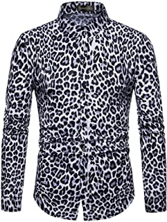 Sportides Men's Casual Long Sleeve Button Down Dress Shirts Tops JZA452