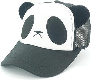 Oidon Summer Panda Cartoon Head Low Profile Flex Fit Baseball Shadow Mesh  Cap c9983f2ca1e3