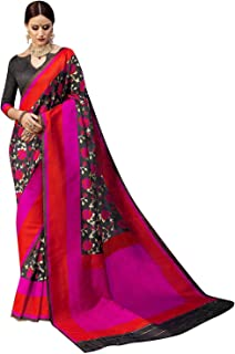 ELINA FASHION Sarees for Women Banarasi Art Silk Woven Saree l Indian Wedding Wear Sari
