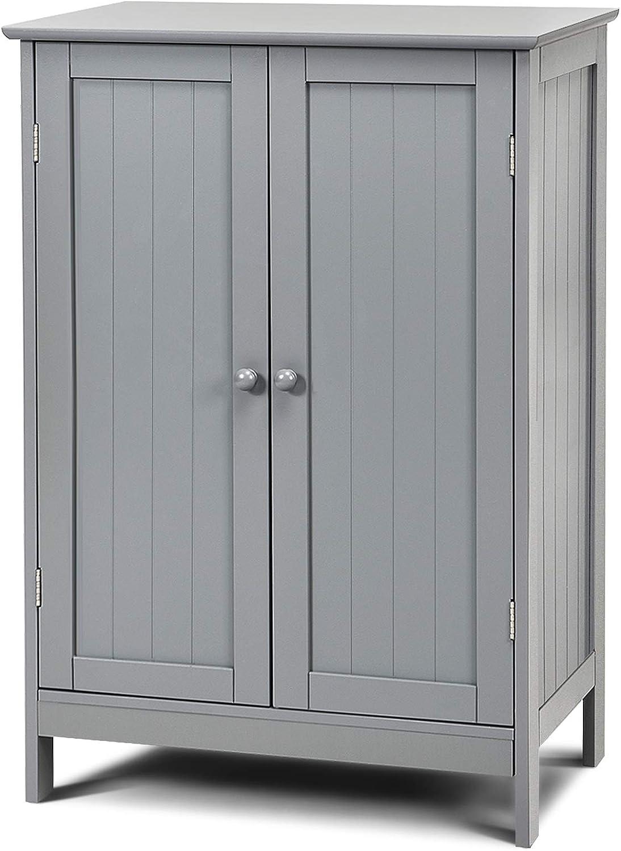 GLACER Bathroom Floor Cabinet Product Cabin Freestanding Storage Wooden sale