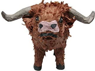 Pinatas Texas Longhorn, Party Game and Centerpiece Decoration for Western Party