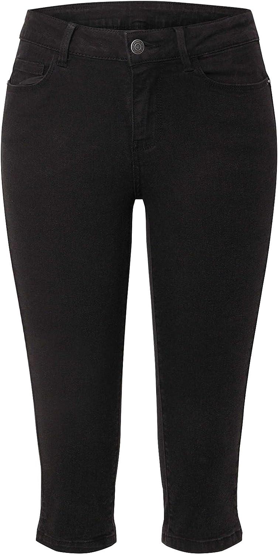 Vero Moda Vmhot Seven NW Dnm Slit Knicker Color Jeans para Mujer