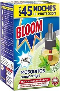 Bloom Insecticida Eléctrico Líquido Fragancia Menta contra Mosquitos 45 Noches - 1 Recambio
