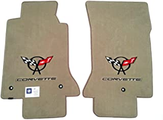 For 97-04 Corvette C5 Velourtex Corvette Crossflag Liners Carpets