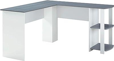 Amazon.com: Desk Solid Wood Student Desk, Desk Shelf Simple ...