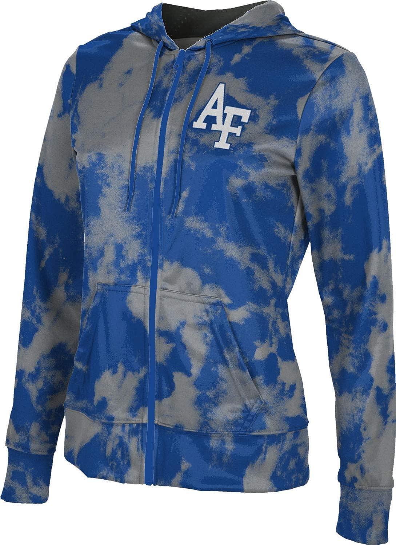 ProSphere U.S. Air Force Academy Girls' Zipper Hoodie, School Spirit Sweatshirt (Grunge)