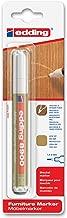 edding e-8900-1-4616 - Marcador para retocar muebles color Haya claro, Retoca y repara arañazos y desperfectos