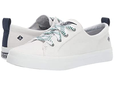 Sperry Crest Vibe Checkered Lace (White) Women