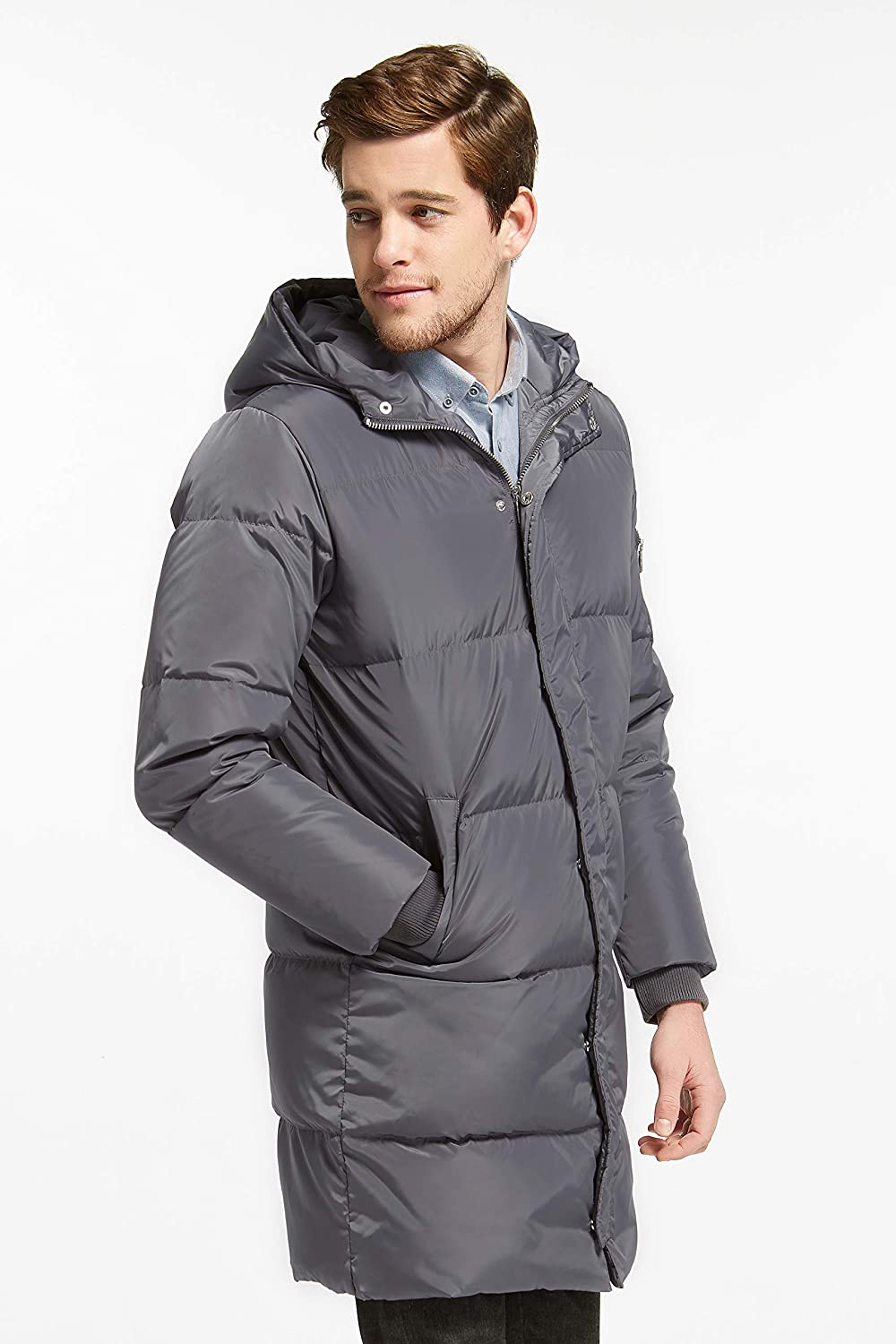 Orolay Men's Thickened Down Jacket Winter Warm Down Coat