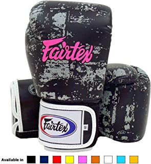 Fairtex Muay Thai Boxing Gloves Bgv1 Dark Cloud Black 10 Oz Universal All Purposes Training Gloves For Kickboxing Mma K1