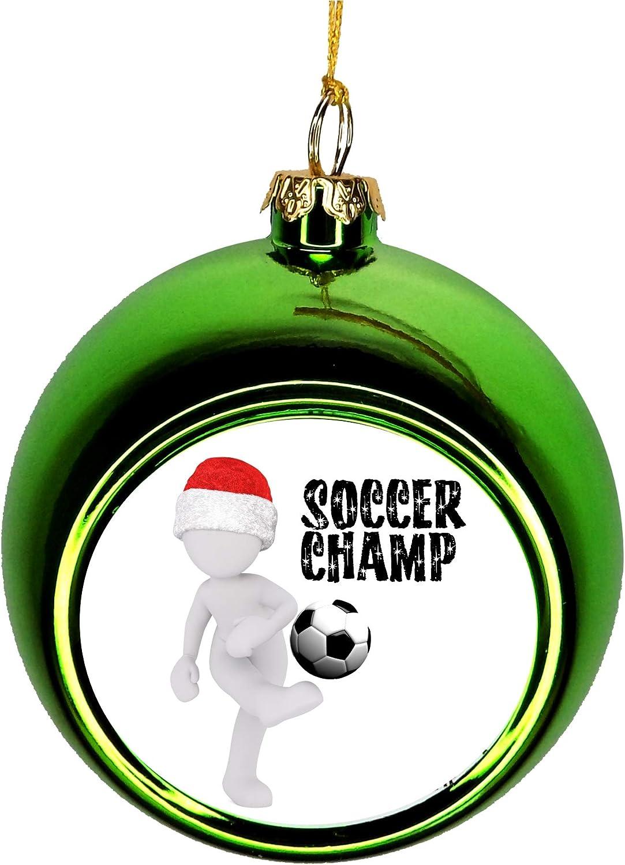 Lea Elliot Inc. Soccer Ball discount Super-cheap Hangin Christmas Ornament Décor Xmas