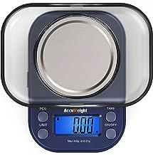 ACCUWEIGHT 255 Mini Balances de Laboratoire Balance de Poche 0,01g de Precision Électronique Balance de Bijoux avec Écran ...