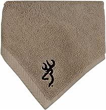 Buckmark Wash Cloth Color: Tan