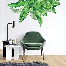 DECOWALL DAT-2019 Planta tropical Vinilo Pegatinas Decorativas Adhesiva Pared Dormitorio Saln Guardera Habitaci Infantiles...