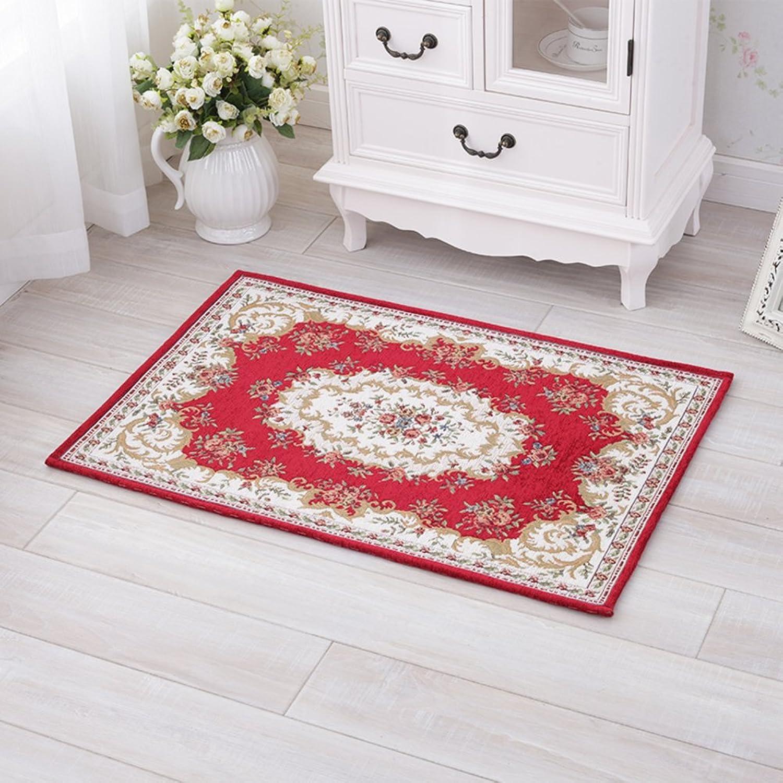 Doormat Door,mats in The Hall Bedroom,Indoor mats European-Style Floor mats Indoor mats Doormat-C 70x140cm(28x55inch)