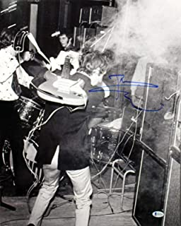 Pete Townshend The Who Signed 16X20 Photo Autographed BAS #B41324 - Beckett Authentication