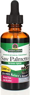 Nature's Answer Saw Palmetto Berry Extract 2 Fluid Ounce | Prostate Support | Natural Urinary Health | Promotes Hair Growth