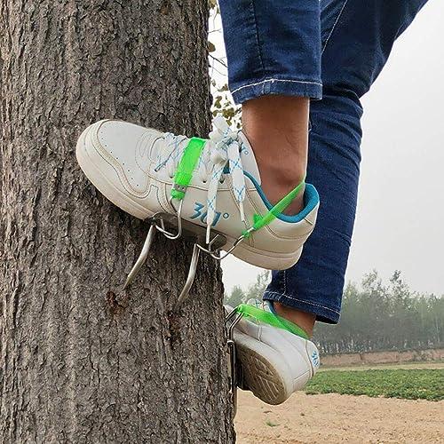 XP& Simple à Utiliser Acier Inoxydable Crochet d'escalade De Plein Air 4 Griffes Outil d'escalade Observation De La Chasse, Choisir Un Fruit, Noix De Coco, Capacité De Charge  220 LB