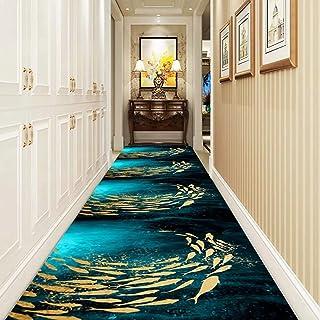 JLCP L/äufer Teppiche Flur Aufregendes 3D-Muster Teppichl/äufer F/ür K/üche//Treppen//Durchgang Eingang rutschfeste Verschlei/ßfest Fu/ßmatten,Waschbar,Mehrere L/ängen,1,60x100cm