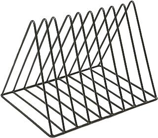 Nai-storage Estante triángulo de Almacenamiento del Disco de Vinilo, CD Rack de Almacenamiento de CD DVD de Soporte del Es...
