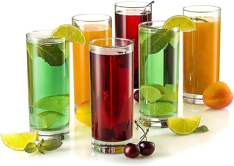 Cocktail Glasses Highball Clear Heavy Bar Ranking TOP6 Base Gla Tall Detroit Mall
