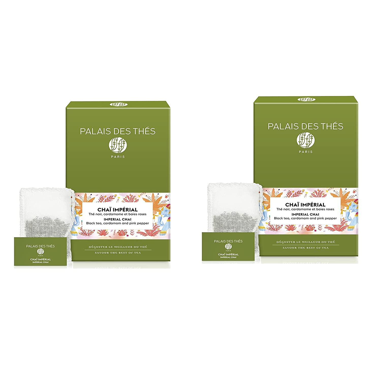 Palais des Thés Chai Impérial Pink Pepp Spasm price Cardamom Regular dealer Black Tea