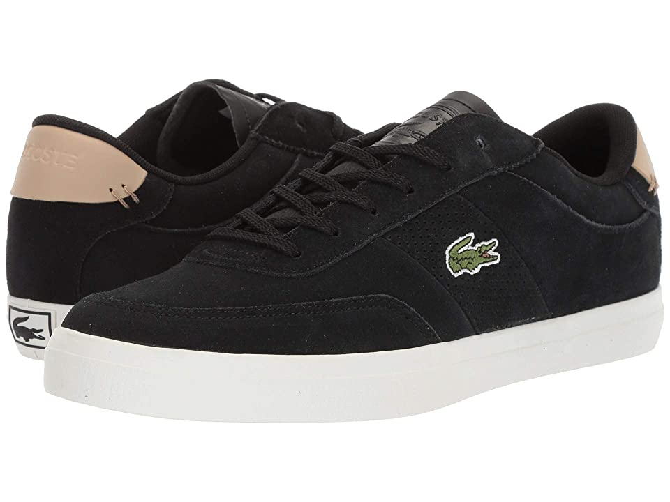 Lacoste Court-Master 418 1 (Black/Natural) Men