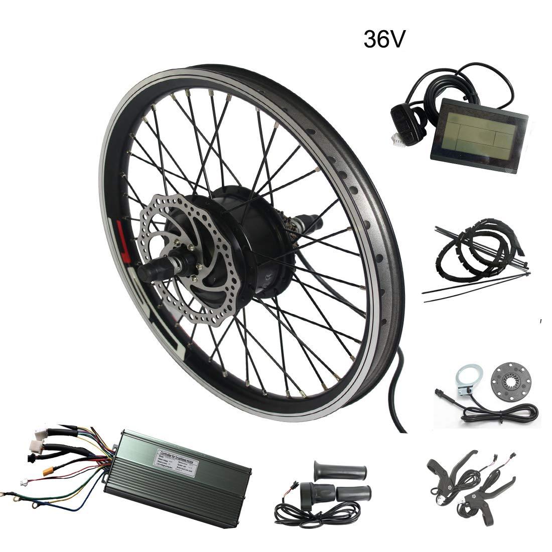 WENHU 29 Pulgadas 48v 1000w-bicicleta eléctrica Batería Bicicleta eléctrica Kit de conversión Rueda de Motor Bicicleta Ebike E: Amazon.es: Deportes y aire libre