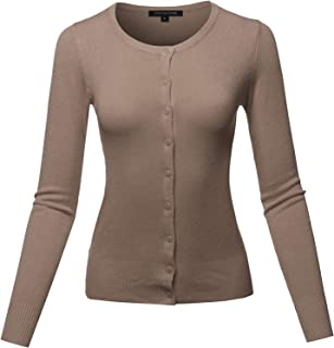Women's Basic Solid Cardigan