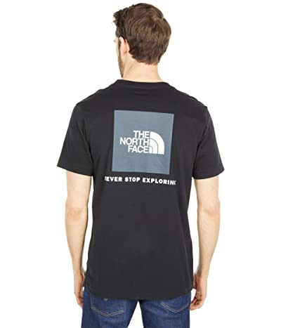 The North Face Box Nse Short Sleeve Tee (TNF Black) Men