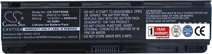 Replacement Battery for Toshiba Satellite P70 Satellite P70-A Satellite P75 Satellite P75-A Satellite P75-A7100 Satellite ...