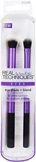 Real Techniques Eye Shade + Blend Set Makeup Brush Kit For Powder & Cream Eyeshadow