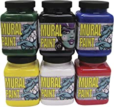 Paint Mural CHROMA Assorted Primary Colors Pint Set of 6