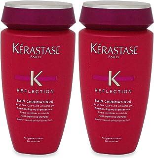 Kerastase Reflection Bain Chromatique Multi-Protecting Shampoo (Colour-Treated or Highlighted Hair) 250ml/8.5oz (Pack of 2)