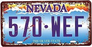 joyMerit USA Kennzeichen Blechschild Metall Schild Plakette für Café Bar Restaurant   Nevada