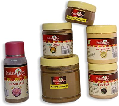 Prabhu Priya Saundarya Combo//Herbal Skin Care Range// 100% Authentic,Quality Assured,ISO:GMP Certified Products with Excellent Packaging.